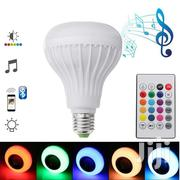 LED Bluetooth Music Speaker And Color Changing Bulb | Audio & Music Equipment for sale in Greater Accra, Airport Residential Area