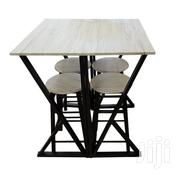 5pcs Dining Set Wooden Top (1+4) | Furniture for sale in Greater Accra, Achimota