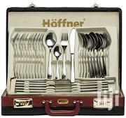 Hoffner 72 PC Mirror Finish Cultlery Set In Black Briefcase | Bags for sale in Upper East Region, Bawku Municipal