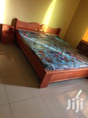Brand New Queen Size Wooden Bed Mattress at a Cool Price. | Furniture for sale in Greater Accra, Achimota