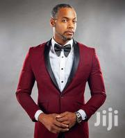 Tuxedo Wine Suit - Men | Clothing for sale in Greater Accra, East Legon