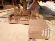 Quality Coffee Brown Italian L Shape Sofa | Furniture for sale in Greater Accra, Dansoman