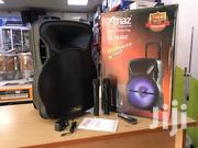 Amaz 15inches Bluetooth PA System With 2 Mic | Audio & Music Equipment for sale in Greater Accra, Achimota