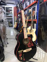 Caravan Music Semi Acoustic Guitar Michael Jackson Limited Edition | Musical Instruments for sale in Greater Accra, East Legon