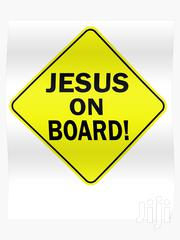 Jesus On Board Signage | Vehicle Parts & Accessories for sale in Greater Accra, Adenta Municipal