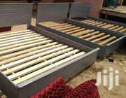 Gray Home Size Bed | Furniture for sale in Greater Accra, Accra Metropolitan