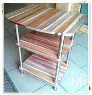 Medium Wood Tv Stand | Furniture for sale in Greater Accra, Abelemkpe