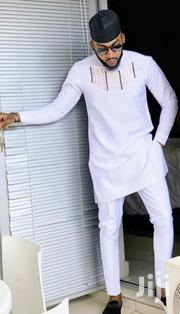 White With Embroidery African Wear for Men | Clothing for sale in Greater Accra, Tema Metropolitan