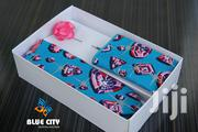 BLUE CITY Blue And Pink Flying Tie Set|Wedding Tie Set|Gift Set | Clothing Accessories for sale in Greater Accra, Odorkor