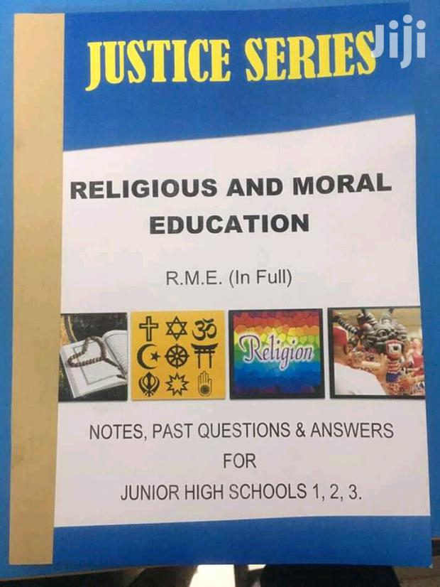 Archive: Justice Series Religious And Moral Education And Integrated Science