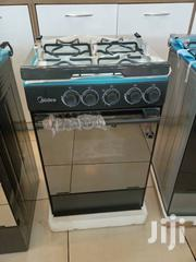 Midea Gas Cooker 50×50cm Black Mirror- Grill | Kitchen Appliances for sale in Greater Accra, Accra Metropolitan