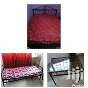 Iron Made Bedstand,3sitterchair,Glass Table , Negotiable | Furniture for sale in Greater Accra, Osu