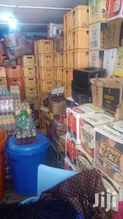 Nice Big Container With Drinks and Empty Creats for Sale at Dome Stj | Commercial Property For Sale for sale in Greater Accra, Achimota