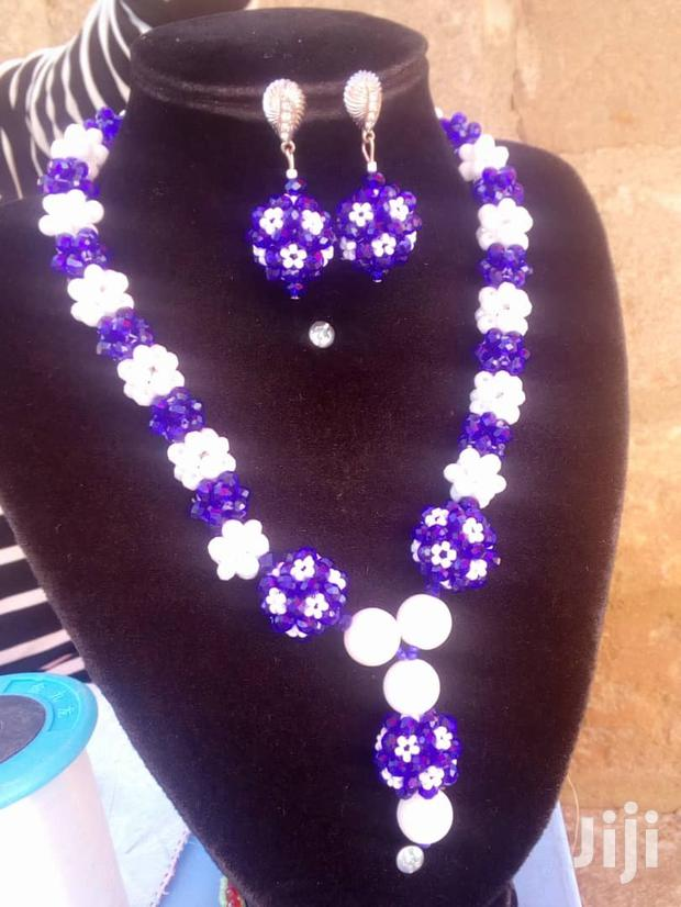 Beaded Necklace And Earrings Available
