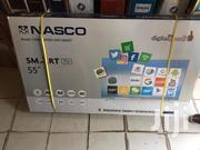 New Nasco 55_smart Curved 4K Satellite Uhd Tv+Speaker | TV & DVD Equipment for sale in Greater Accra, Adabraka