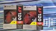 4X Corsair Af120 Red LED Fans | Computer Hardware for sale in Greater Accra, Akweteyman