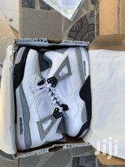 Jordan Retro 4 White Cement   Shoes for sale in Greater Accra, Adenta Municipal