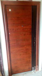 Brown With Black Stride Security Door With Accessories | Doors for sale in Greater Accra, Accra Metropolitan
