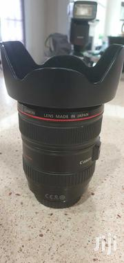 Canon EF 24-105mm F/4 L IS USM Macro Lens With EW-83H Hood | Cameras, Video Cameras & Accessories for sale in Greater Accra, Airport Residential Area