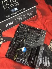 Intel Core I5 6600k + MSI Z270 SLI PLUS Motherboard | Computer Hardware for sale in Greater Accra, Odorkor