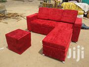 Emmanuel Leather Sofa Red | Furniture for sale in Greater Accra, Achimota