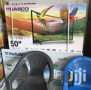 Nasco 50 Inches Smart Curved Digital Satellite LED TV | TV & DVD Equipment for sale in Greater Accra, Accra Metropolitan