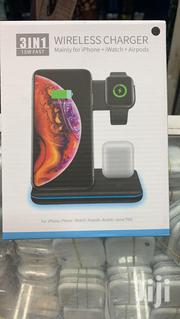 Apple 3 in 1 Wireless Charging Station | Accessories for Mobile Phones & Tablets for sale in Greater Accra, Accra Metropolitan