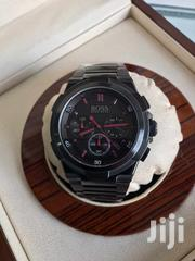 Red on Black Boss Watch | Watches for sale in Greater Accra, Airport Residential Area
