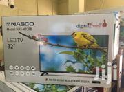 "Nasco NAS - H32FB - LED Satellite TV - 32"" Black + Free Wall Bracket 