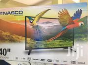 "Nasco LED40C9L Full HD LED Satellite TV - 40"" Black 