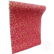 Chuvie Floral Design Wallpaper- 5sqm Red/Gold   Home Accessories for sale in Greater Accra, Achimota
