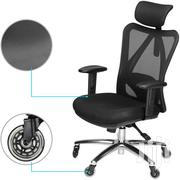 Click Executive Mesh Swivel Office Chair- Black | Furniture for sale in Greater Accra, Achimota