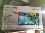 "Nasco 49D1B Satellite LED TV - 50"" Black 