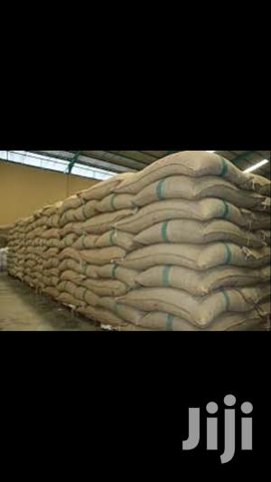 Bags Of Beans And Groundnut