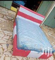 Lovely Bed With Foreign Double Mattress for Sell. | Furniture for sale in Greater Accra, Adenta Municipal
