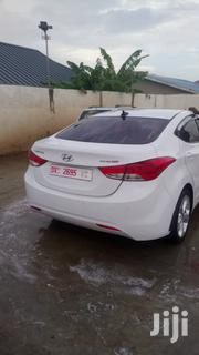 Hyundai Elantra 2012 GLS Automatic White | Cars for sale in Greater Accra, Achimota