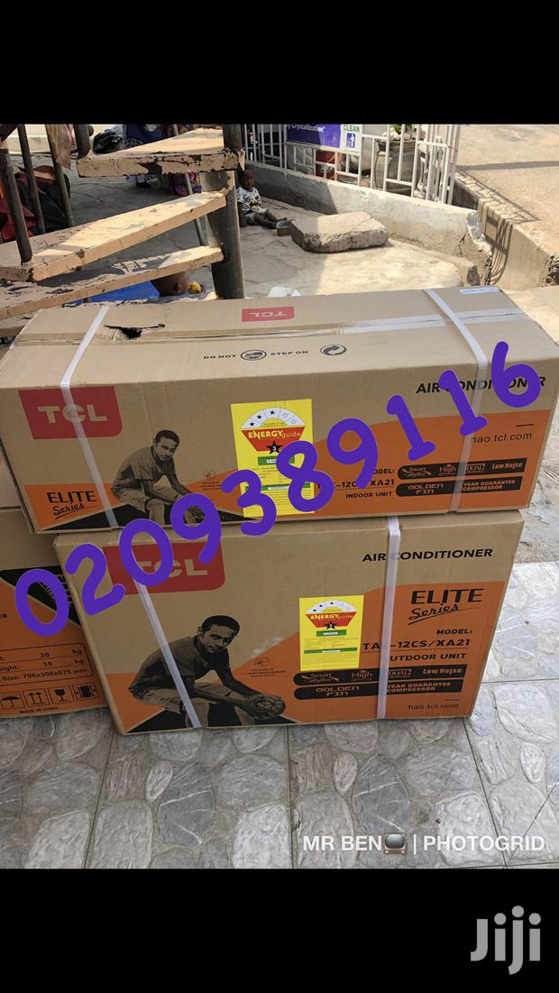 New TCL 1.5 HP Split Air Conditioner 3stars