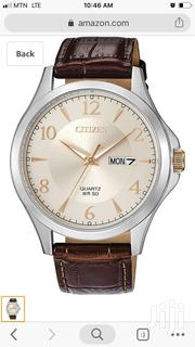 Citizen Brown Leather Watch | Watches for sale in Greater Accra, Abelemkpe