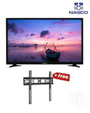 Plus Free Bracket Nasco 32~Satellite DVB T2 Led Tele | TV & DVD Equipment for sale in Greater Accra, Adabraka
