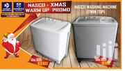 New Nasco 10 Kg Washing Machine Twin Tub | Home Appliances for sale in Greater Accra, Accra Metropolitan