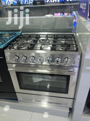 Nasco 5 Burner Gas Cooker With Oven Grill