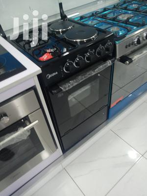 Midea 4 Burner Oven & Grill 2 Gas 2 Electric