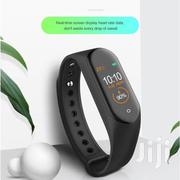 M4 Smart Health and Fitness Watch Tracker BP | Smart Watches & Trackers for sale in Central Region, Gomoa East
