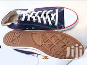Converse All Stars Canvas-Blue Black | Shoes for sale in Greater Accra, Ga East Municipal