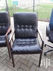 Black Leather Chair From Germany Quality | Furniture for sale in Greater Accra, Accra Metropolitan