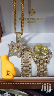 Watch,Chain And Bracelet Set | Jewelry for sale in Greater Accra, New Mamprobi