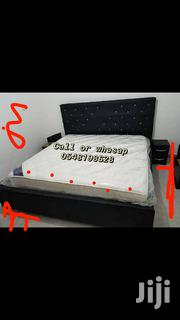 Double Bed With Mattress | Furniture for sale in Greater Accra, Sempe New Town