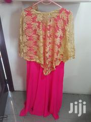 Pink And Golden Color Long Dress   Clothing for sale in Greater Accra, Accra new Town