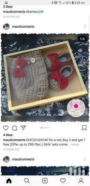 Crochet Baby Booties For Sale | Children's Shoes for sale in Greater Accra, Adenta Municipal