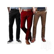 3-Piece Slim Fit Chino Trousers - Multicolour | Clothing for sale in Greater Accra, Airport Residential Area